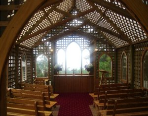 Inside the Trellis Chapel