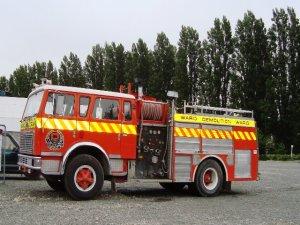 Ward's fire engine