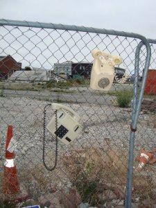 Abandoned telephones