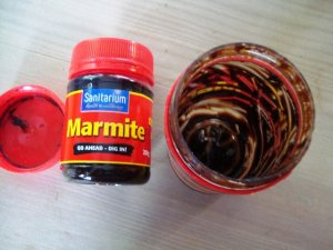 New Marmite and old