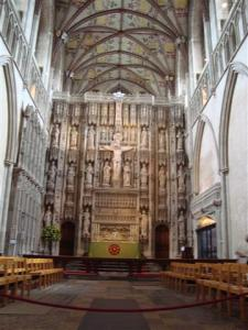 Screen and reredos
