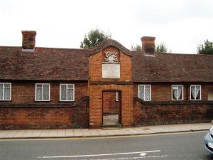 Almshouses in Bancroft