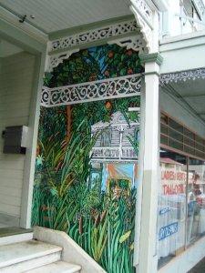 Mural in Cuba Street