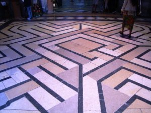 Labyrinth at Ely Cathedral