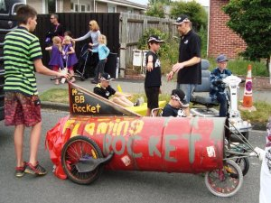 The Boys Brigade had weird vehicles, including this Rocket