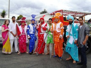 The Indian Cultural & Social Group had wonderfully colourful costumes