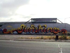 Sunshine mural