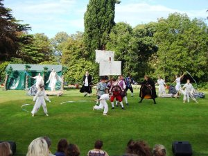 """The Tempest"" on the Mound Lawn"