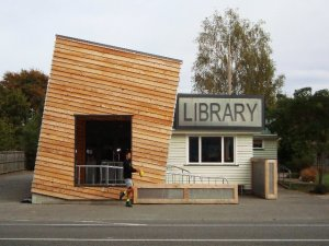 Library Lean-to