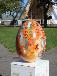 Egg no. 10 by Christian Nicholson