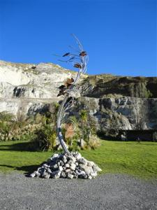 This one is planned to be placed as a welcome to the Waipara region.  It's just waiting for permssion  from Transit NZ.