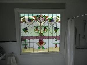 My bathroom window