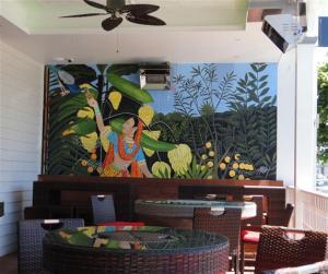 Coriander mural #1 (Small)