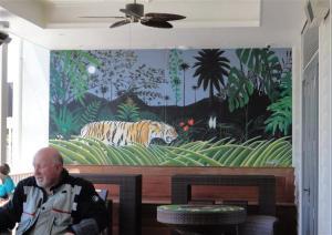 Coriander mural #2 (Small)