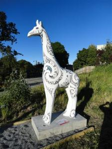 Giraffe no. 21, by Barbadoes Street Bridge