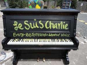 Protesting piano