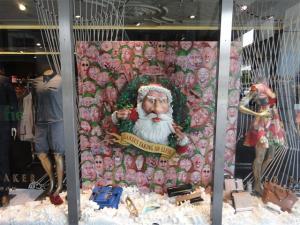 Santa taking an elfie