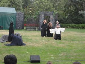 Macbeth with the witches