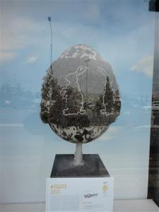 'Homespun Egg' by Hannah Kidd