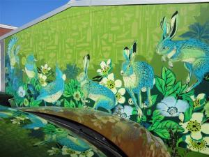 Mural by Flox