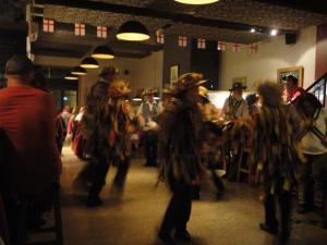 Morris Dancers on St George's Day