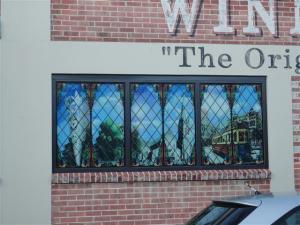 Window in Allen Street