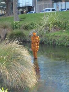 "'Stay"" by Antony Gormley"