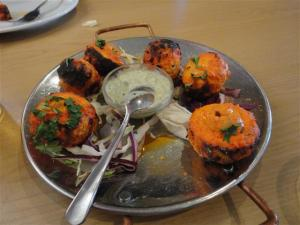 Tandoori Mushrooms