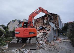 Demolition in Nova Place
