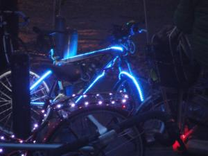Glowing bicycle (Small)