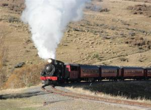 Weka Pass Steam Train