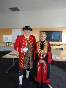 Town Crier and Mayor