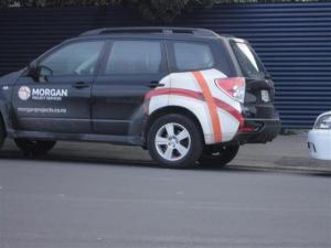 Bandaged car (Small)