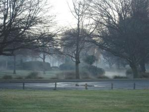 Mist on river (Small)