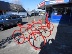 Edgeware bike stands