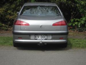 Vet's car?