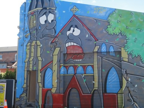 Sad Cathedral in Welles Street (Small)